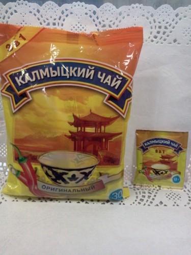 Калмыцкий чай «Оригинальный» с солью и перцем, 12гр