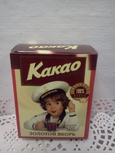 Какао «Золотой якорь», 100гр