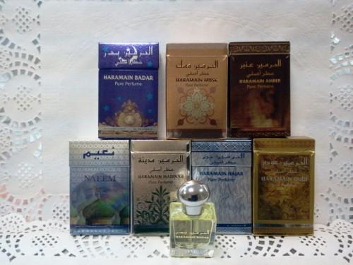 Духи (миск) Haramain (Аль-Харамайн) в ассортименте, 15мл