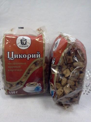 Цикорий в кусочках, натуральный жареный, 150гр