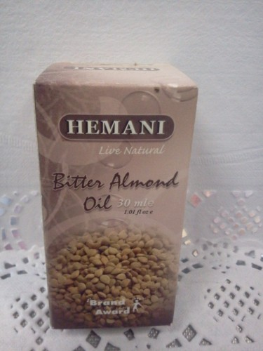 Масло горького миндаля Хемани (Hemani), 30мл