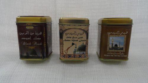 Сухие духи (миск) Perfurme musk Jamid (духи Джамид) от Hemani, 30гр