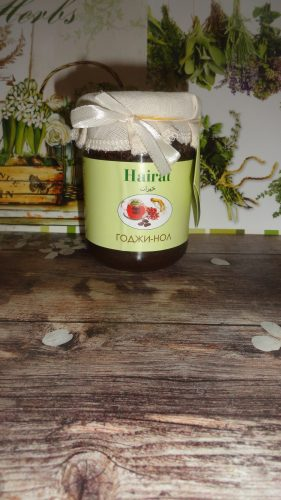 Мед с добавками Хайрат (Hairat) — Годжи-нол