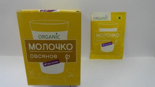 Молочко овсяное без сахара «Компас здоровья», 10гр