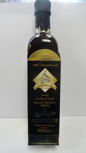Масло черного тмина Эль-Карнак (El Karnak), стекло, 0,5л