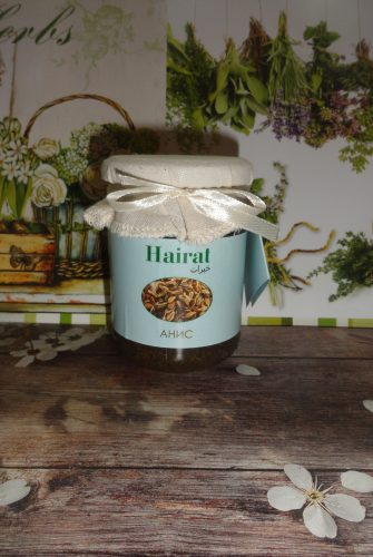 Мед с добавками Хайрат (Hairat) — Анис