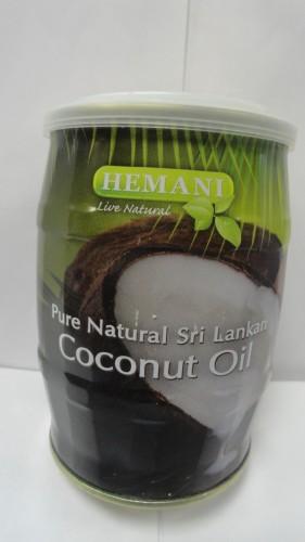 Масло кокосовое Хемани (Hemani), 400мл