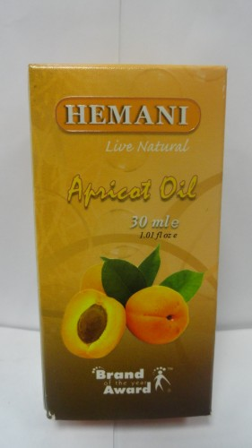 Масло абрикосовых косточек Хемани (Hemani), 30мл