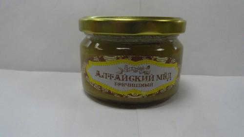 Мед алтайский гречишный «Медовый край», 250гр