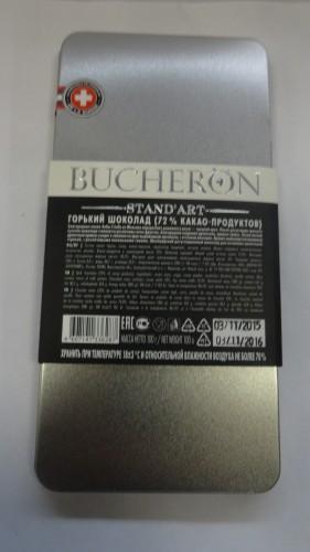 Горький шоколад Bucheron (Бушерон) «Стандарт», 100гр