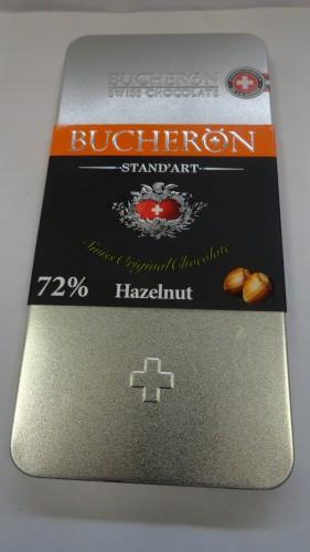 Горький шоколад Bucheron (Бушерон) «Стандарт» с фундуком, 100гр