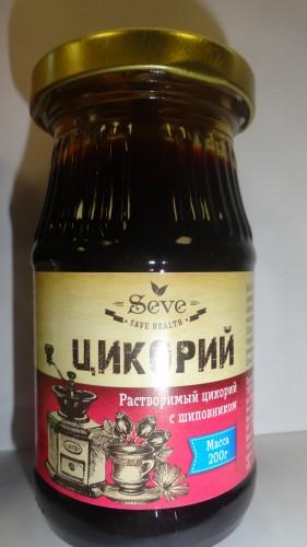 Растворимый цикорий Seve (Сейв) с шиповником, 200гр