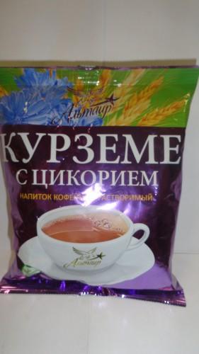 Напиток кофейный растворимый «Курземе» с цикорием «Альтаир», 100гр