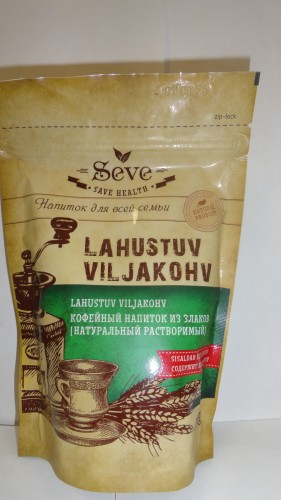 Кофейный напиток Seve (Сейв) из злаков, 100гр