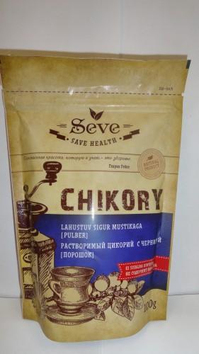 Растворимый цикорий Seve (Сейв) с черникой, 100гр