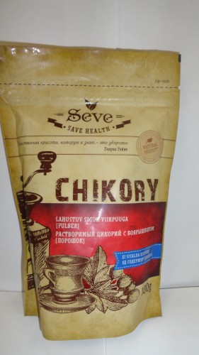 Растворимый цикорий Seve (Сейв) с боярышником, 100гр