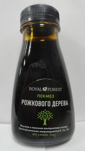 Пекмез из рожкового дерева Royal Forest (Роял форест), 250мл