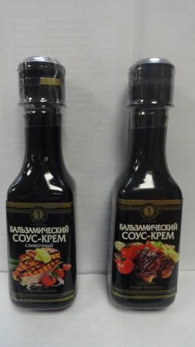 Бальзамический соус-крем в ассортименте, 220мл