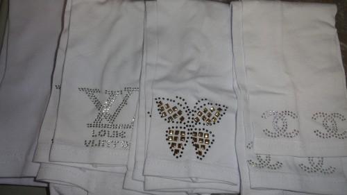 Нарукавники белые с вышивкой