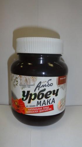Урбеч из семян мака «Амбо», 350гр