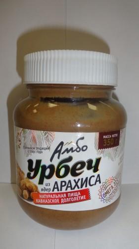 Урбеч «Амбо» из ядер арахиса, 350гр