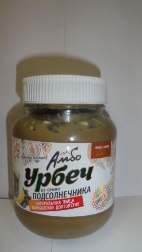 Урбеч «Амбо» из семян подсолнечника, 350гр