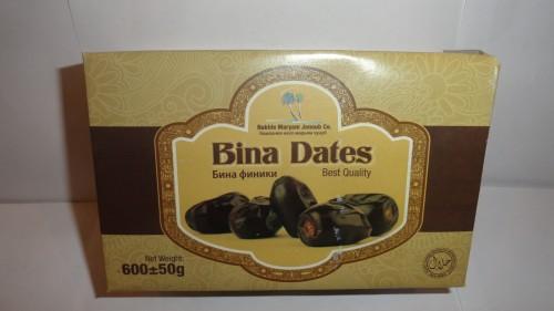 Финики Bina Dates (Бина), 600гр