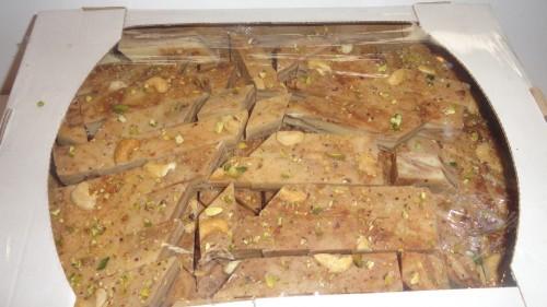 Халва узбекская с орешками, развес
