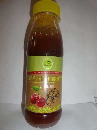 Сироп из топинамбура «Дары Памира» с вишней, 330гр