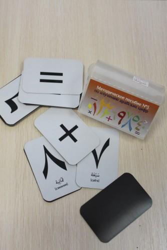 Магниты для изучения арабских букв или цифр
