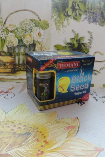 Согревающая мазь Hemani (Хемани) с черным тмином, 50мл+5мл/10мл