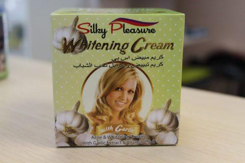 Крем Силки плеже (Silky Pleasure) с экстрактом чеснока, 80гр