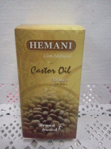 Масло касторовое (Castor oil) Хемани (Hemani), 30мл