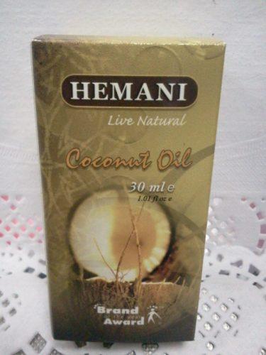 Масло кокосовое (Coconat oil) Хемани (Hemani), 30мл