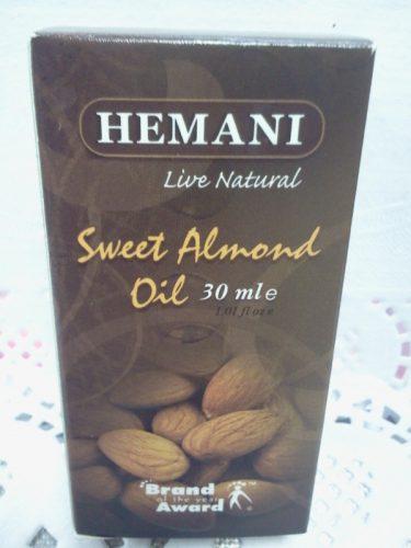 Масло сладкого миндаля (Sweet Almond oil) Хемани (Hemani), 30мл