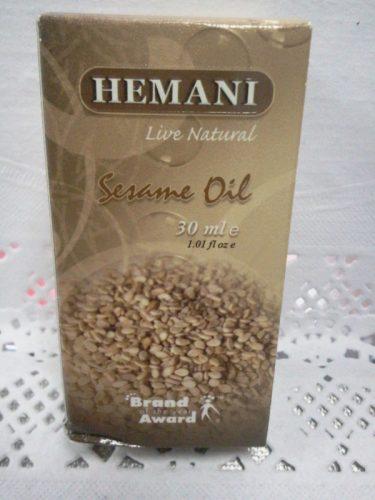 Масло кунжутное (Sesame oil) Хемани (Hemani), 30мл