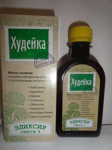Масло льняное «Худейка», 200мл