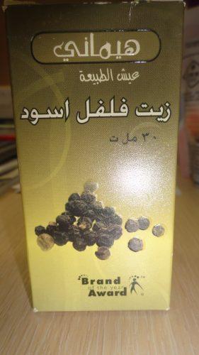 Масло черного перца (Black pepper oil) Хемани (Hemani), 30мл