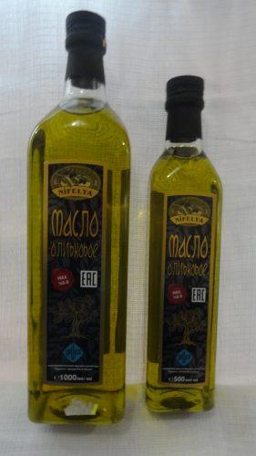 Масло оливковое Нифеля (Nifelya), 1л/0,5л