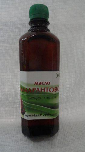 Амарантовое масло (экстра класса) от ЭкоПро, 500мл