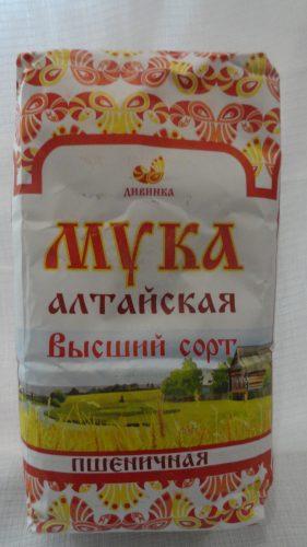 Мука Алтайская высший сорт, 2кг