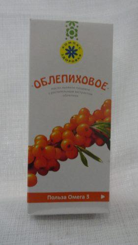 Масло льняное с экстрактом облепихи, 200мл