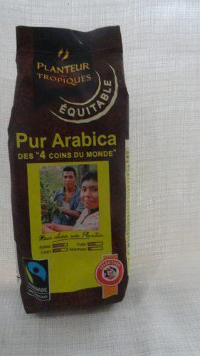 Кофе Плантер (Planteur) Арабика (Pur Arabica), молотый, 250гр