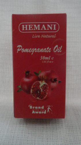 Масло гранатовых косточек (Pomegranate oil) Хемани (Hemani), 30мл