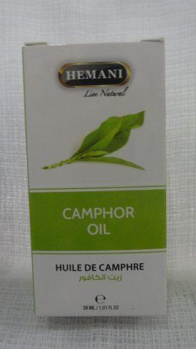 Масло камфорное (Camphor oil) Хемани (Hemani), 30мл