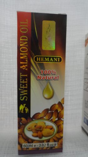 Масло сладкого миндаля (Sweet Almond oil) Хемани (Hemani), 60мл