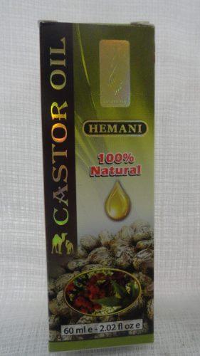Масло касторовое (Castor oil) Хемани (Hemani), 60мл