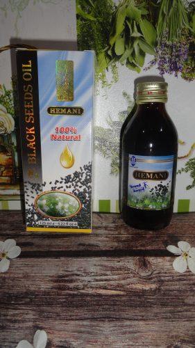Масло черного тмина «Hemani» (Хемани), 125мл