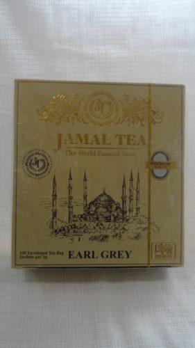 Чай Джамал (Jamal tea) черный с бергамотом (Earl Grey), 100пак.