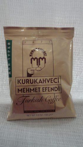 Кофе Mehmet Efendi (Мехмет Эфенди) натуральный отборный жареный мелкого помола по-турецки, средней обжарки, 100гр
